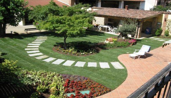Vivaio il germoglio vinovo - Progetti piccoli giardini privati ...